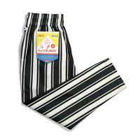 【COOKMAN】シェフパンツ Chef Pants Awning Stripe Black
