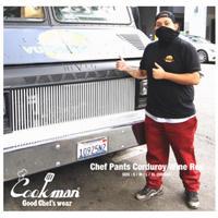 【COOKMAN】シェフパンツ Chef Pants Corduroy Wine