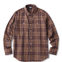 【FTC】PLAID NEL B.D SHIRT