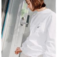 【HUF】SCRIPT POCKET L/S TEE