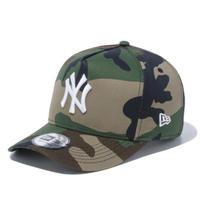 【NEWERA】9FORTY D-Frame ニューヨーク・ヤンキース ウッドランドカモ × ホワイト