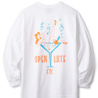 【FTC】OPEN LATE L/S TEE