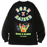 【BORN × RAISED】HEAT SEEKER L/S TEE