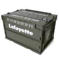 【LAFAYETTE】LOGO MILITARY STORAGE BOX