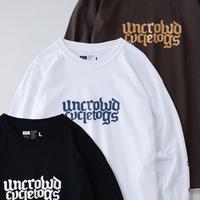 【UNCROWD】PRINT L/S TEE'S -uct-