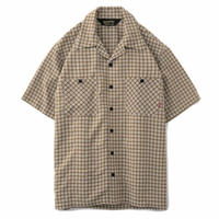 【BLUCO】SEERSUCKER WORK SHIRTS S/S