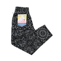【COOKMAN】Chef Pants Paisley Black