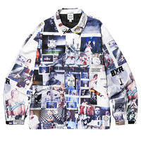 【BORN × RAISED】SHERM ALL OVER PRINT COACH JACKET