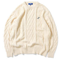 【LFYT】COTTON CABLE KNIT SWEATER