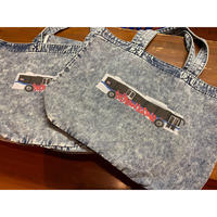 【SKREWZONE】CHEMICAL DENIM NY GRAFFITI BUS TOTE BAG