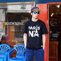 【SKREWZONE】PARIS COLLEGE TEE