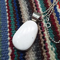 NAVAJO 『WHITE BUFFALO NECKLACE(E.Willie)』