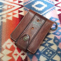 【SALE】 Nasngwam. OLD LEATHER WALLET (PLAIN) B』