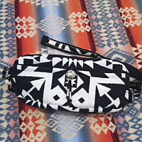 EARLY MORNING 『DAILY WAIST BAG Mサイズ(CONDENSED white&black)』