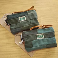 Nasngwam. ×EARLY MORNING 『FASTENER POUCH Sサイズ (ARMY)』