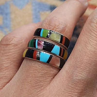 ZUNI 『INLAY RING (A)』
