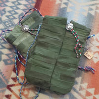 Nasngwam.×EARLY MORNING 『CONNECT POUCH(ARMY)』