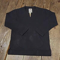 【SALE】 Nasngwam. 『BURKINA SHIRTS(GARAPACE) (BLACK)』