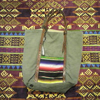 【SALE】 EARLY MORNING 『OLD SARAPE TOTE BAG』