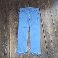【SALE】 Nasngwam. 『STEP DENIM PANTS(USED WASH)』