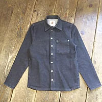 【SALE】 Nasngwam. 『FLIP ZIP DENIM JK (BLACK ONE WASH) Sサイズ』