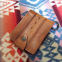 【SALE】 Nasngwam. OLD LEATHER WALLET (PLAIN) A』