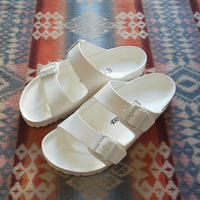 (再入荷) BIRKENSTOCK 『ARIZONA EVA (WHITE)』