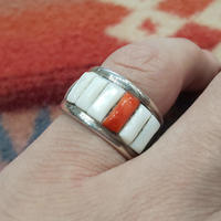 NAVAJO 『INLAY RING (Ray Adakai) 12号』
