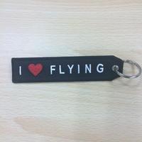 フライトタグ01【I ♡FLYING】(細字)