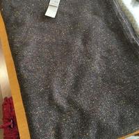 wool/cotton 裏毛ネップ マルチカバー Size 155×230