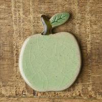 土作りの箸置き りんご 青リンゴ