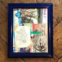 collage c-003 *額装付き