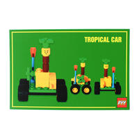 """PYY"" POSTCARD ""TROPICAL CAR"""