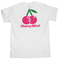 CHERRY S/S TEE WHITE