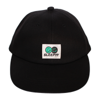 FACE LOGO CAP BLACK