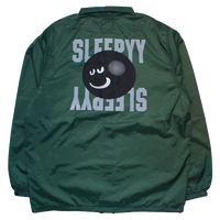 3D FACE LOGO COACH JACKET DARK GREEN