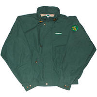 SLEEPYY PIZZA DELIVERY JACKET GREEN