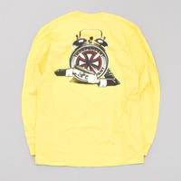 Fucking Awesome x Independent Hostage Longsleeve Tee - Yellow