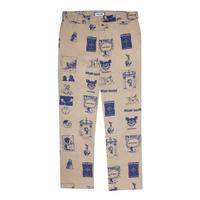 Fucking Awesome Cut Outs Work Pants - Khaki/Blue