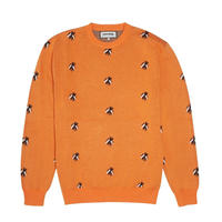 Fucking Awesome Flies Knitted Sweater - Orange