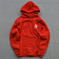 Fucking Awesome Embroidered Fa Logo Hoodie - Red