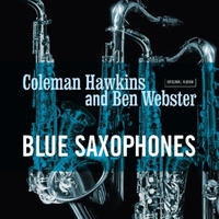 COLEMAN HAWKINS & BEN WEBSTER / Blue Saxophones (LP)