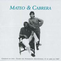 EDUARDO MATEO & FERNANDO CABRERA / Mateo & Cabrera(CD-R)