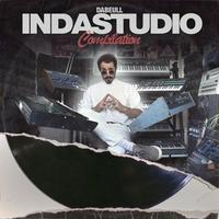 Dabeull / INDASTUDIO COMPILATION (LP) ポスター、ステッカー付