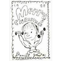 DANIEL JOHNSTON / MERRY CHRISTMAS (1988) (CASSETTE)