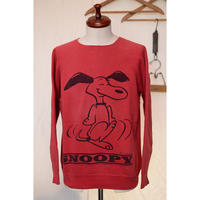 "SPRUCE 60'S ""DANCING SNOOPY"" PRINT SWEAT"