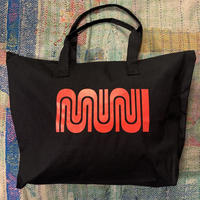 "SF MUNI""Worm""Logo Tote Bag"