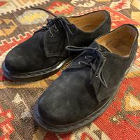 Vintage Dr.Martens Black Suede Made in England