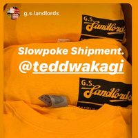 "G.S. Landloards ""PMA"" Yellow Long sleeve T-shirts   11月下旬発売予定。"