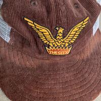 "Ebbets Field Flannels ""THE CITY"" BB Cap  ""SAMPLE""品 ブリムヤケ有り"